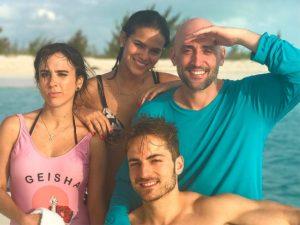 No Caribe, Bruna Marquezine se hospeda em resort favorito de Brad Pitt