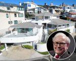 Warren Buffett e sua casa de praia em Laguna Beach