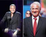 George Clooney e Jean-Paul Belmondo