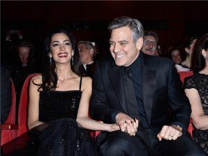 Casados há dois anos, George e Amal Clooney estão grávidos de gêmeos