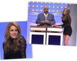 Kristen como Gisele em quadro do SNL