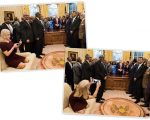 Kellyanne Conway no Salão Oval
