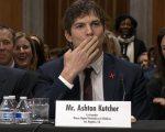 Ashton Kutcher em depoimento ao Senado americano