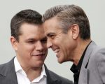 Matt Damond e George Clooney