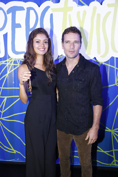 Sophia Charlotte e Daniel de Oliveira