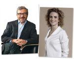 Julio Anguita e Mónica Blatyta