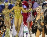 Sabrina Sato, Juliana Paes, Fernanda Lima e Luiza Brunet não dispensam o salto nos desfiles