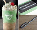 O novo drink do McDonald's, e o canudo futurista