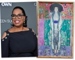 Oprah e o quadro de Gustav Klimt
