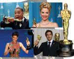 Em sentido horário: Cuba Gooding Jr., Mira Sorvino, Adrien Brody e Halle Berry