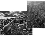 """Imagens do livro """"Gênesis"""" e """"Serra Pelada"""""""