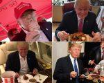 Trump em sua hora favorita
