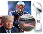 Trump e Brady serão destaque no Super Bowl deste ano
