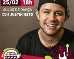 Justin Neto estará em Salvador para um aulão