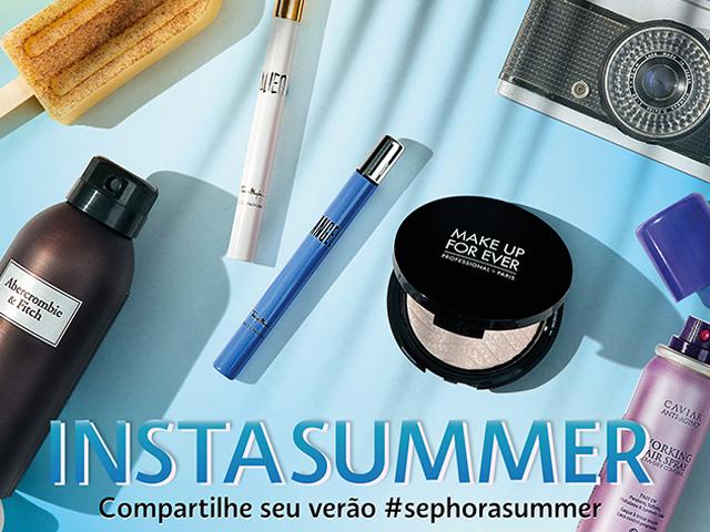 Sephora Summer Party celebra o verão com festa dedicada à vitrine Instasummer