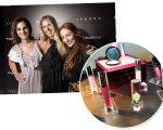 Vic Ceridono, Adriane Galisteu e Maria Eugênia na Sephora Summer nessa quinta-feira