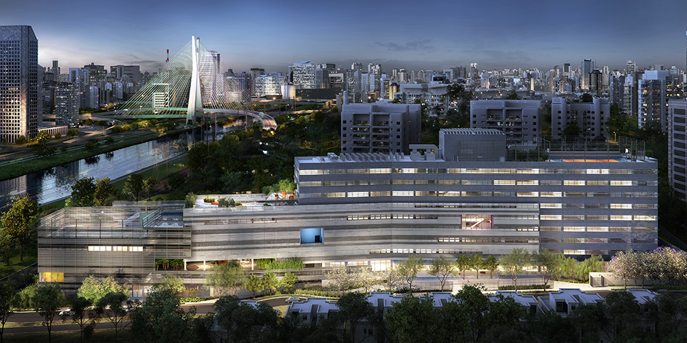 Prédio onde ficará localizado a futura Avenues: A Escola Mundial de São Paulo
