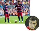 Messi, Neymar e Philippe Coutinho