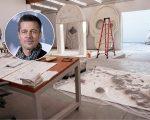 Brad Pitt e o estúdio de LA
