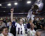 Tom Brady após a vitória do Patriots