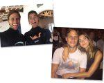 Guisela e Ricardo Whately: o casal vai da praia à primeira fila com humor e sorriso no rosto...