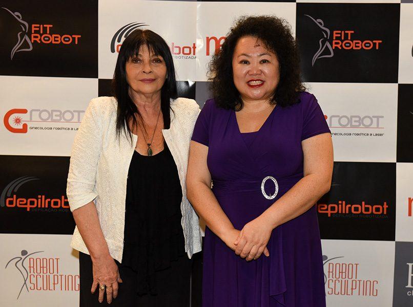 Claudia Pidal e Christine Lee