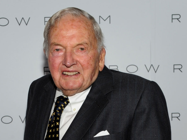 David Rockefeller || Créditos: Getty Images