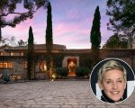 Ellen e sua mansão em Montecito, na Califórnia