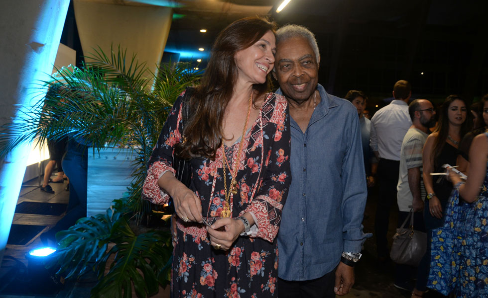 Flora e Gilberto Gil