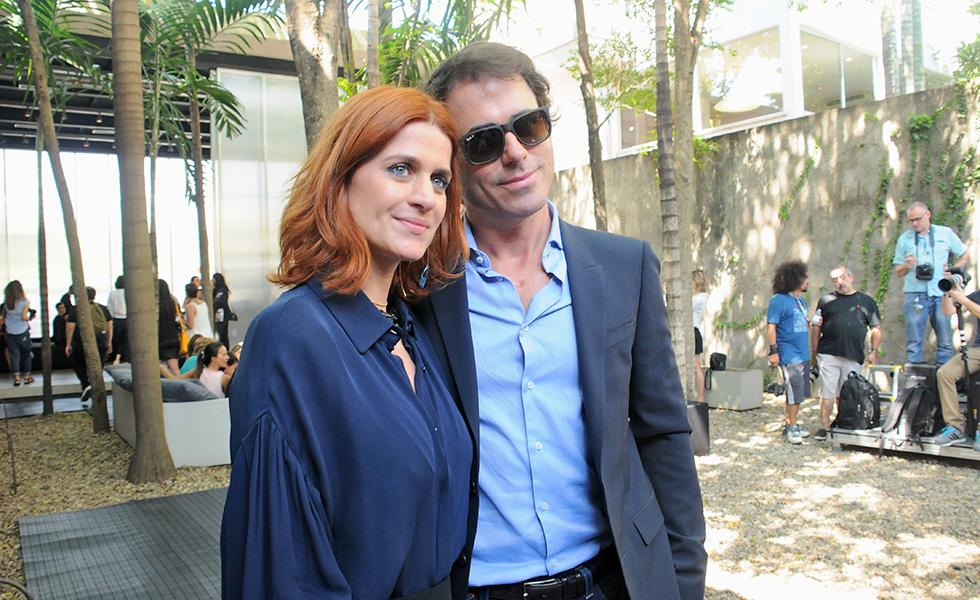 Giuliana Romanno e Cristiano Baran