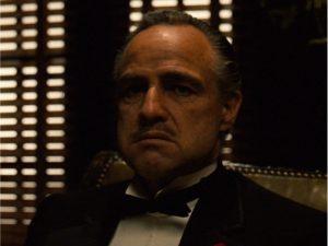 """Marlon Brando em """"O Poderoso Chefão"""""""
