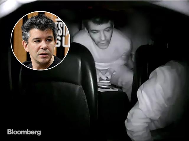 Travis Kalanick discute com motorista do Uber || Créditos Getty Images  Reprodução  Bloomberg
