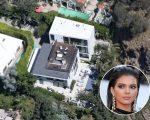 A mansão de Kendall em Hollywood Hills