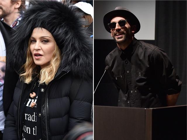 Madonna e JR