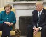 Angela Merkel e Donald Trump