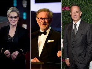 Protagonistas do mesmo filme, Meryl Streep e Tom Hanks têm salários beeem diferentes…