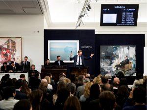 Quadro do alemão Gerhard Richter bate recorde em leilão da Sotheby's