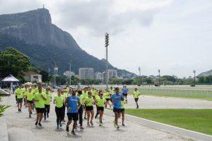 Track&Field Experience arma aulão power para as glamurettes cariocas