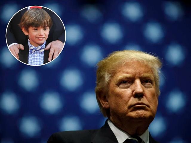 Donald Trum e seu neto, Donald III