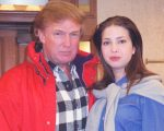 Donald Trump e Ivanka Trump, em 1998