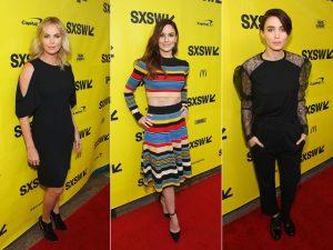 De Charlize Theron a Rooney Mara, o que as estrelas vestiram no SXSW