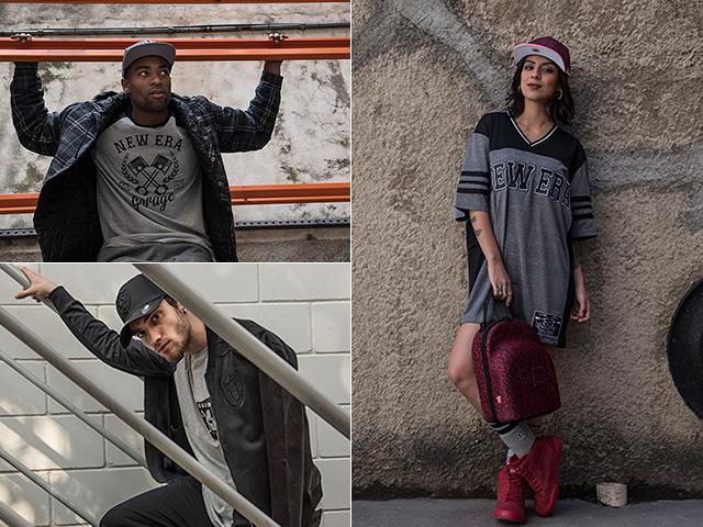 A marca buscou inspiração na cultura sportswear para construir a coleção outono-inverno 2017 || Créditos: Divulgação