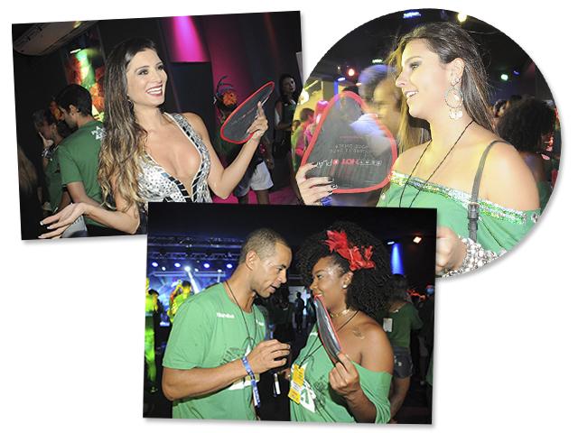 "Sexy Hot ""refrescou"" a Avenida – e os famosos – neste Carnaval da Sapucaí"