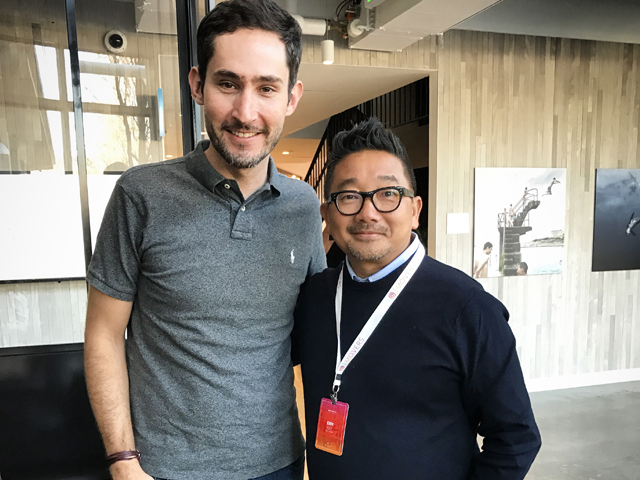 Kevin Systrom e Erh Ray