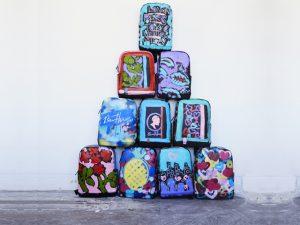 Desejo do Dia: a arte de rua de Bradley Theodore nas mochilas Moleskine