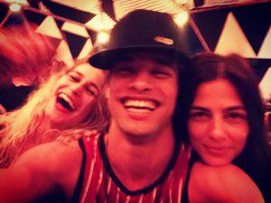 Alice Dellal, Pablo e Re Mader Créditos: Reprodução Instagram