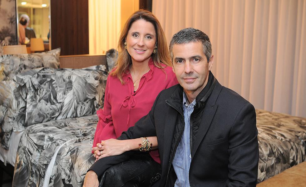 Adriana e Romeu Trussardi