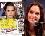 Angelina e a capa da 'InTouch'