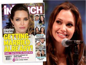 Extra! De acordo com revista, Angelina Jolie vai se casar com britânico misterioso