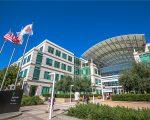 A sede da Apple em Cupertino, na Califórnia